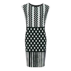 Joseph Ribkoff Geometric Pencil Dress